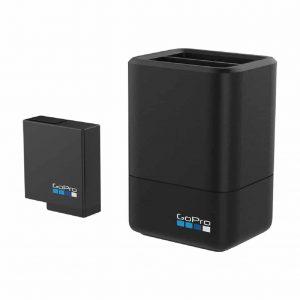 Cargador de batería doble + batería para HERO 5/6 Black GoPro